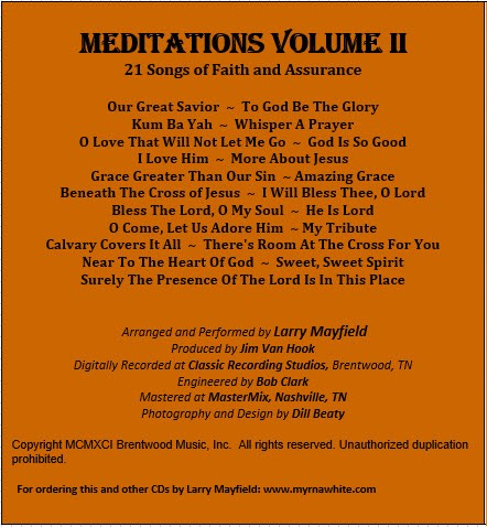 Meditations Volume II Larry Mayfield cover 2.jpg